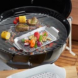 Poêle à griller pour barbecue 33x18.7 cm 89257